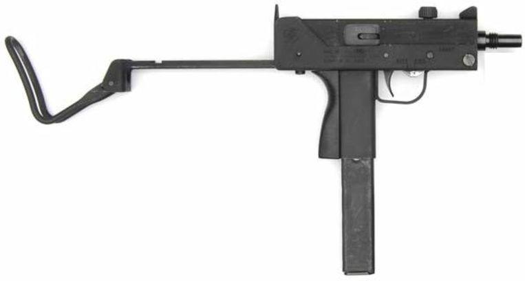 Een Ingram M10-machinepistool. Beeld RV