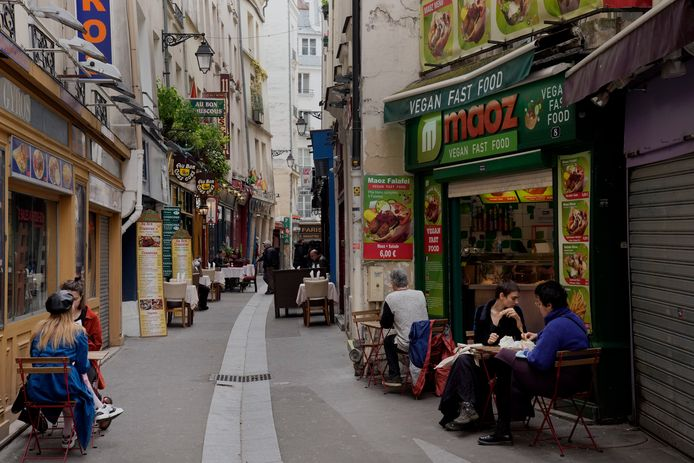 Eind mei gingen in Parijs de terrassen open na een sluiting van meer dan zes maanden.