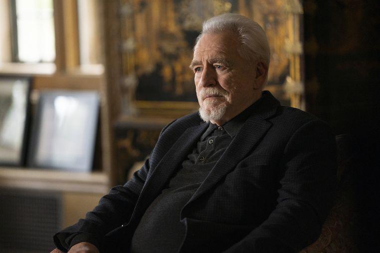 HBO serie Succession met pater familias Logan Roy (Brian Cox). Beeld Filmstill