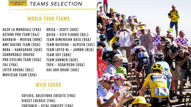 """Drie Belgische teams naar de Tour want ook Wanty-Groupe Gobert erbij: """"Beloning voor harde werk"""""""