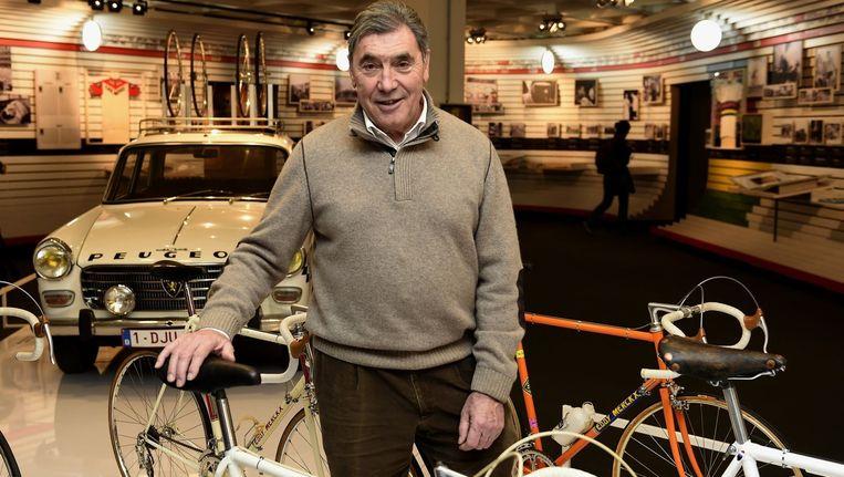 Wielericoon Eddy Merckx wordt vandaag 70 jaar. Beeld PHOTO_NEWS