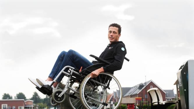 Pechvogel Riesebeek mag vier weken niet fietsen en lopen: 'Ik viel bijna flauw van de pijn'