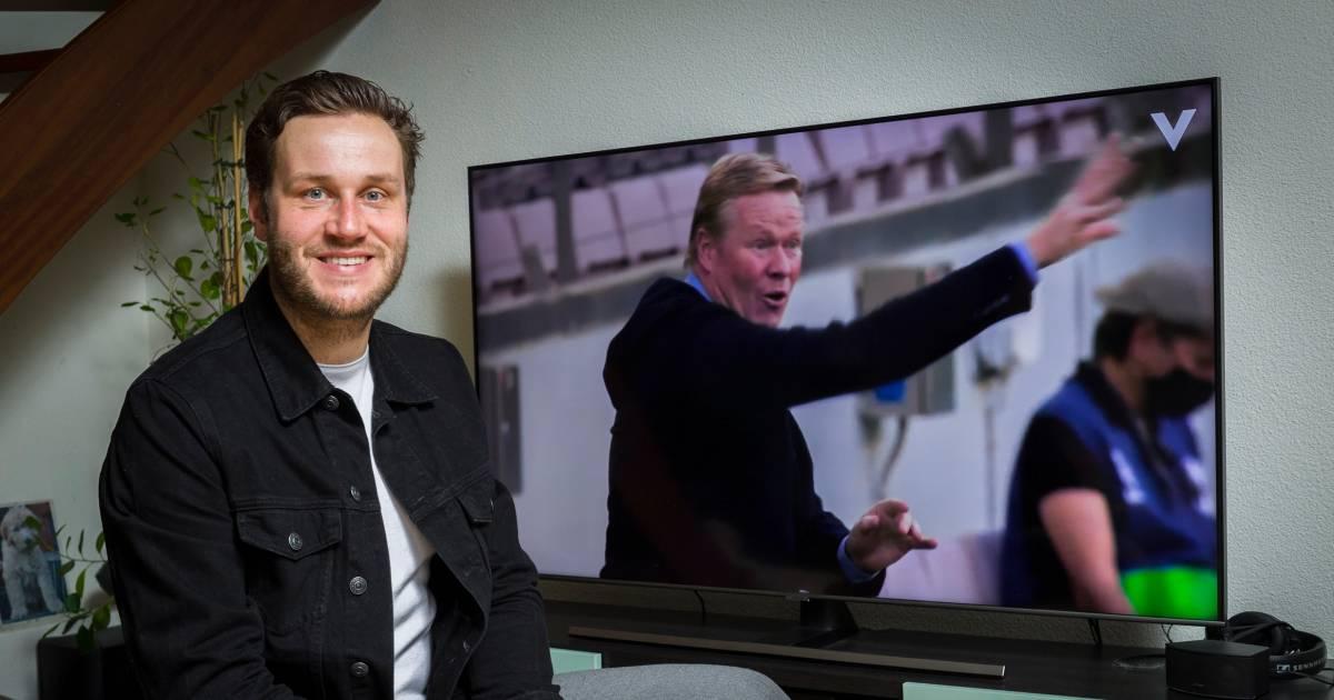 Stefan Valk is het brein achter de docu Força Koeman: 'Het is een soort kindje van me geworden' - AD.nl