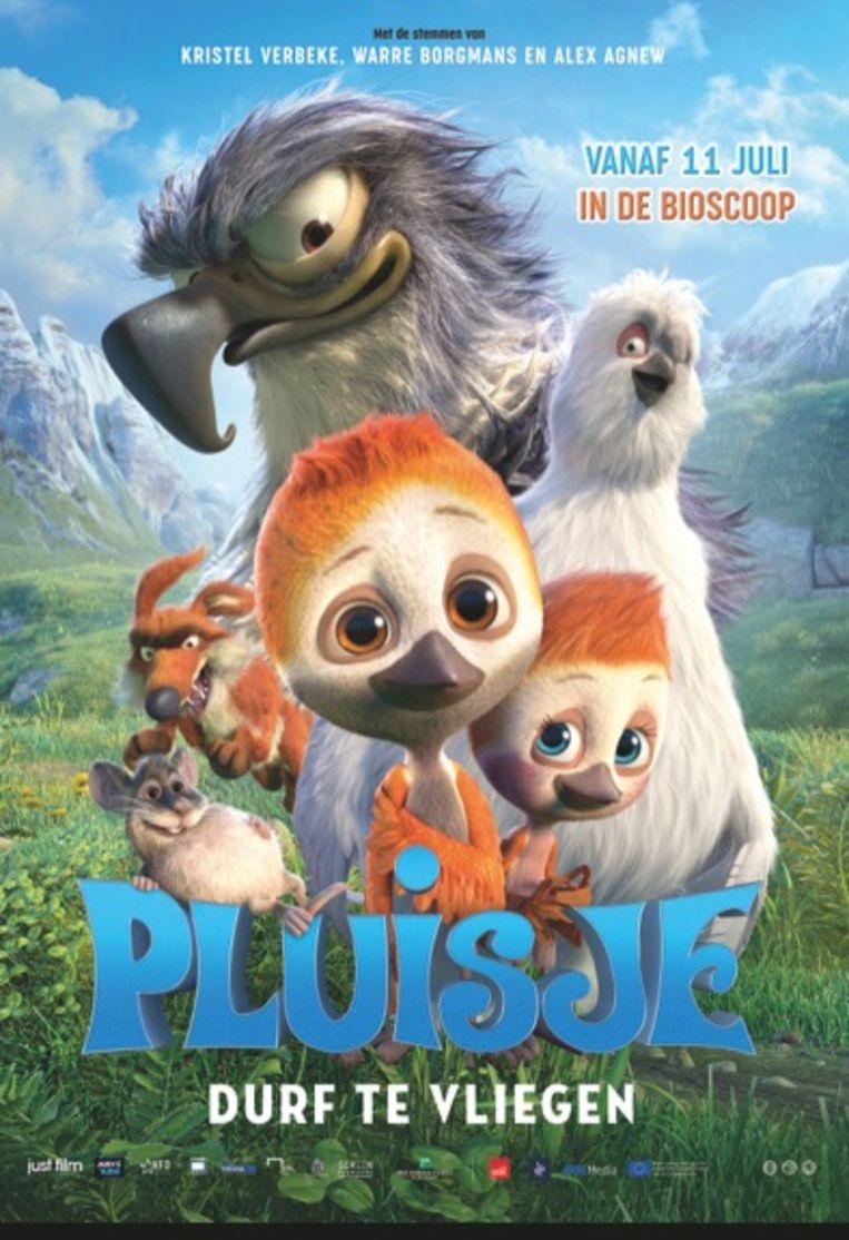 Filmposter 'Pluisje'.