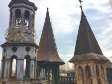 Torentjes als trofeeën op een Bredaas sloopterrein