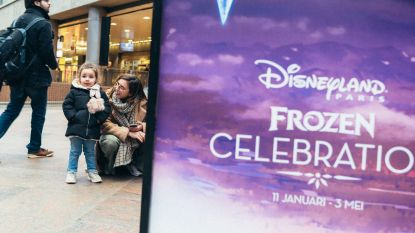 150 deelnemers op 'Frozen'-schattenjacht in Antwerpen-Centraal