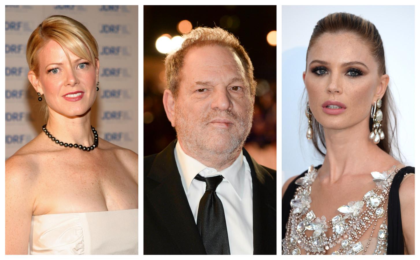 Eve Chilton, Harvey Weinstein en Georgina Chapman