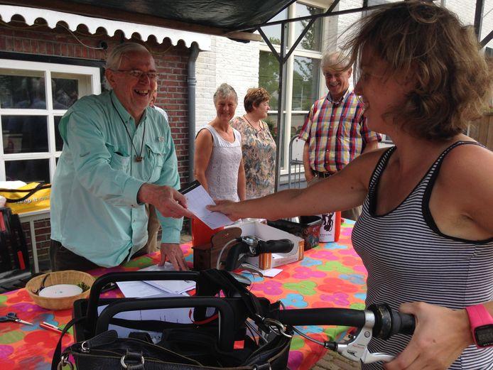 In 2016 kon Theo Raaijmakers nog aanwezig zijn bij Toer Mee.