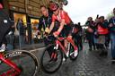 Dumoulin na de zware valpartij in de Giro van dit jaar, die hem uitschakelde voor de rest van het seizoen