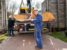 Bijzonder project; met deze eeuwenoude boom van 7000 kilo (!) wordt Romeins schip gerestaureerd: 'Dit is gaaf'