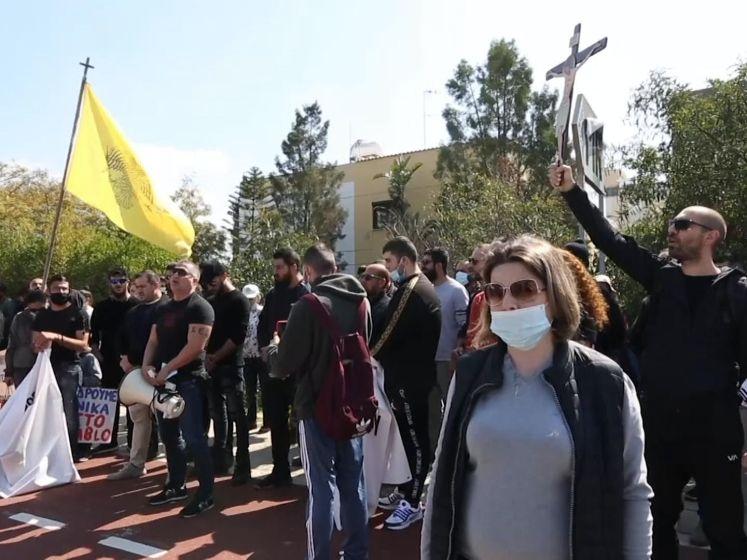 Demonstranten boos over 'satanisch' songfestivallied van Cyprus