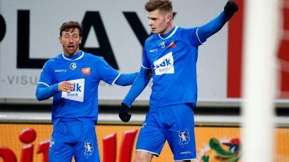 VIDEO. Play-off 2 komt dichterbij: Anderlecht en Rutten verliezen op Gent, nieuwkomer Sørloth meteen van goudwaarde