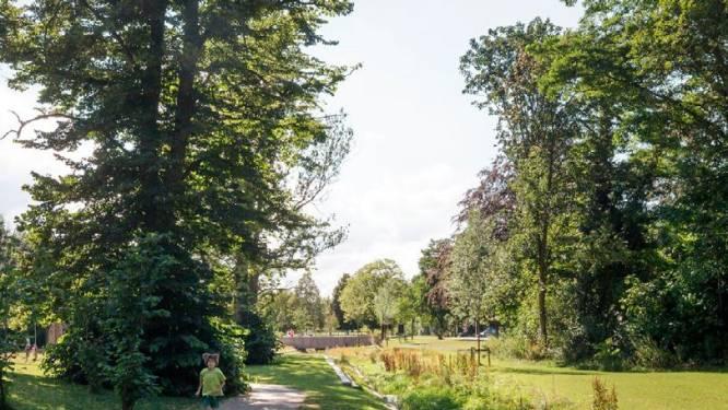 Zo ziet het vernieuwde dorpspark in Massenhoven eruit: werken starten deze maand