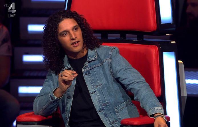 Ali B in The Voice.