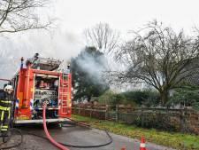 Asbest vrijgekomen bij garagebrand in Diessen