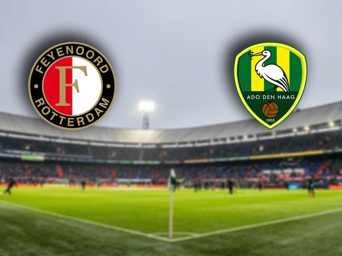 Liveblog: Feyenoord-ADO Den Haag.