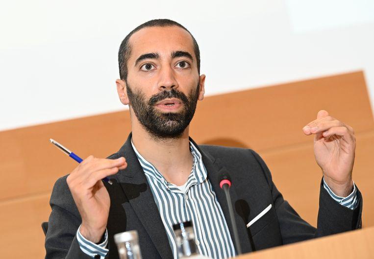 Staatssecretaris voor Asiel en Migratie Sammy Mahdi (CD&V). Beeld Photo News
