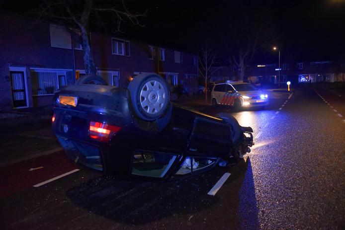 Twee jonge vrouwen ongedeerd na ongeval in Nijmegen