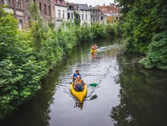 """Na deelauto's krijgt Gent ook deelkajaks: """"Niet iedereen heeft een eigen kajak nodig"""""""