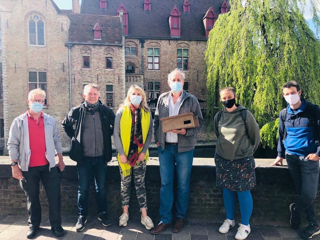 De gierzwaluwen krijgen in elk geval een fantastisch zicht op Brugge cadeau.