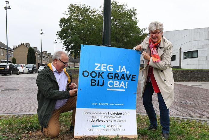 In Grave mag op 17 maart gestemd worden over het zelfstandig blijven van de gemeente. Een door de oppositie eerder gewenst  referendum kwam er nooit. De Tweede kamer buigt zich nu al over de fusie van de andere vier gemeenten in het Land van Cuijk.