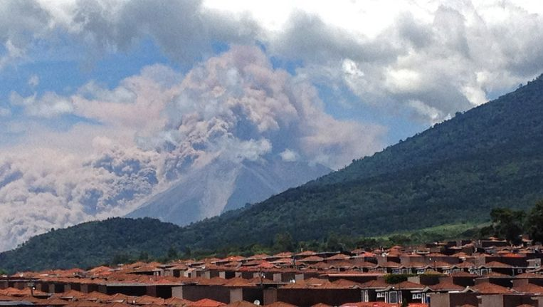 De Volcan de Fuego. Beeld ap