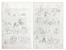 """Deux planches des """"Bijoux de la Castafiore"""" vendues 280.000 euros"""