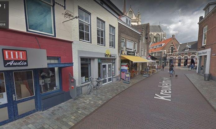 Aan de Kreukelmarkt in Goes bouwt Ferax het oude pand van computerwinkel IMHA om.