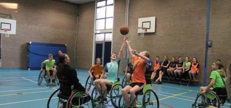 Basketballen op wielen op Het Assink in Eibergen