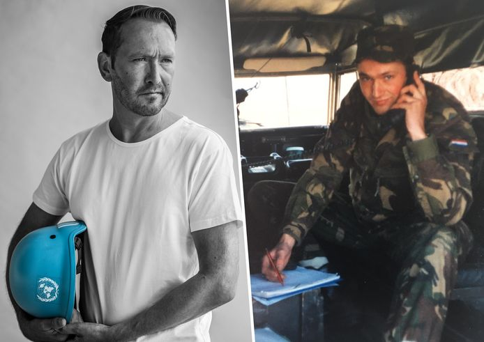Ronald Wentink vertelt over de trauma's die hij overhield aan zijn periode in Srebrenica. De Gorcumer was mortierist en bemandde observatieposten.