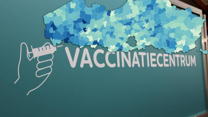 IN KAART. West-Vlaanderen spant de kroon: zoveel inwoners zijn er al gevaccineerd in úw gemeente