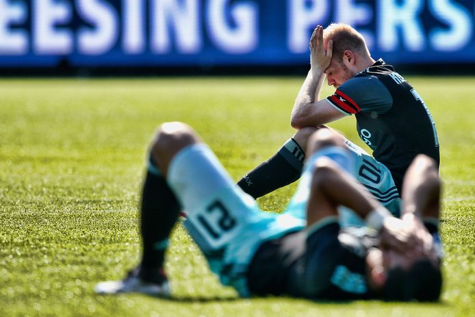 Ajax verloor vorig jaar in mei de titel op de slotdag.