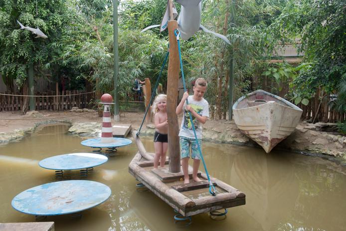 """Edwin Stal: ,,De speeltuin in Wemeldinge wordt zoiets als  die van Berkenhof Tropical Zoo (foto). Maar dan doen we het twee of drie keer zo groot."""""""