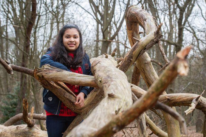 Breda Pix4Profs/René Schotanus. Georgina Gras op de Vrachelse Heide in Oosterhout.