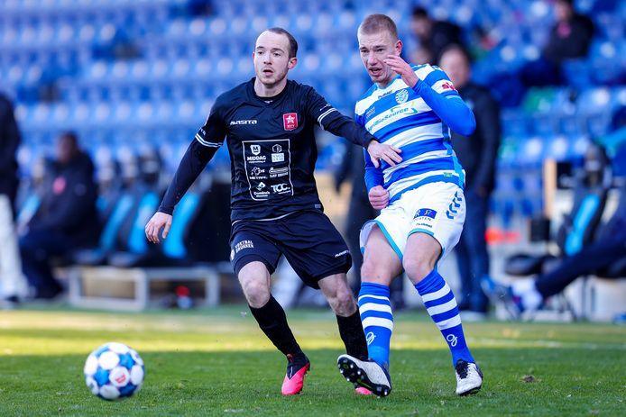 De Graafschap won vorige week met minimale cijfers van MVV: 1-0.