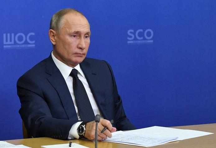 President Vladimir Poetin.