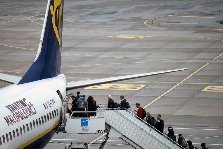 Tot 160 euro vraagt Ryanair voor typfouten.  Beeld Photo News