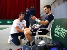 Murray ontbreekt mogelijk tegen Oranje in Brits Davis Cup-team