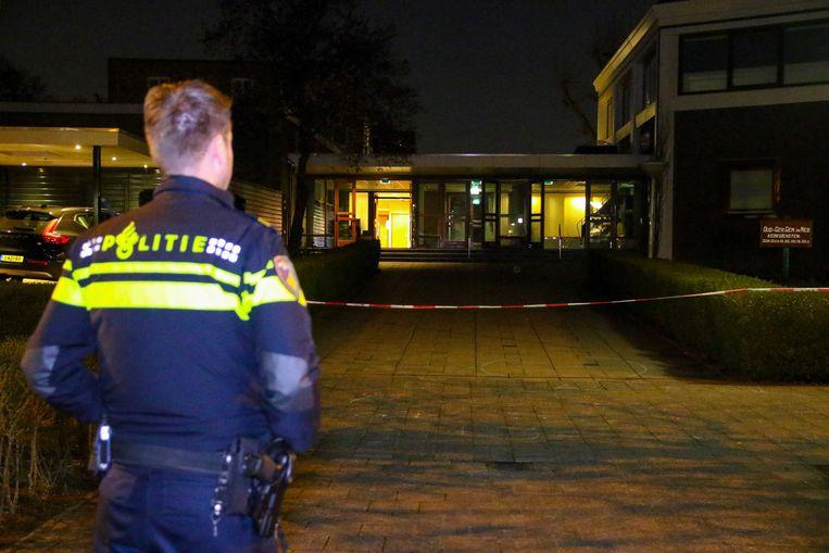 Volgens de politiewoordvoerder lijkt het om vuurwerk te gaan.  Beeld ANP