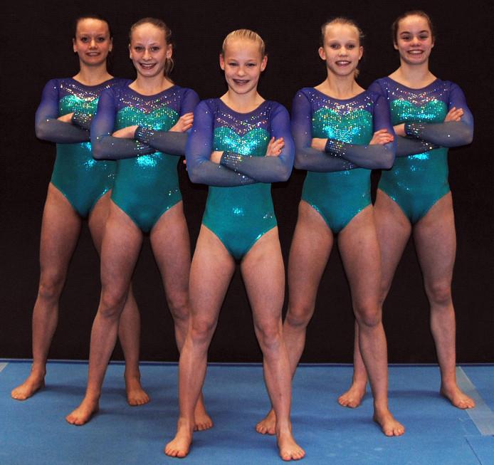 Deze meiden van TON wonnen zaterdag de Nederlandse Kampioenschappen Teams.