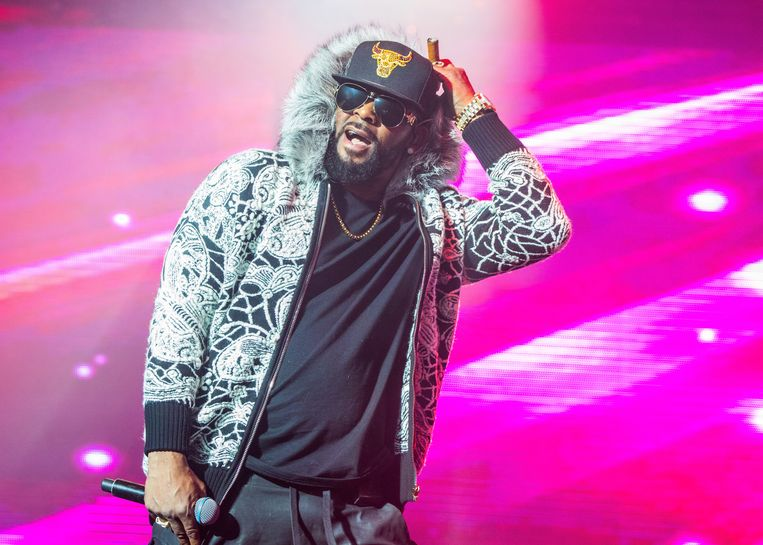 R. Kelly in Detroit, 2018 Beeld Getty Images