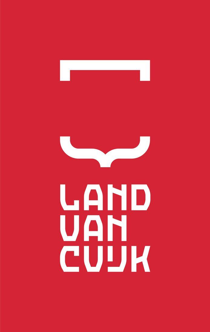 Het nieuwe logo voor de fusiegemeente Land van Cuijk.