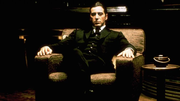 Al Pacino in The Godfather: Part II (Francis Ford Coppola, 1974). Beeld