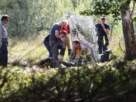Brandweermannen moeten op zoek naar gewonde vrouw in natuurgebied bij Boxtel