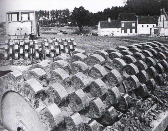 Deze obstakels moesten tanks tegenhouden.