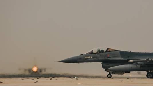 De Nederlandse F-16's voerden hun missies uit vanaf een basis in Jordanië.
