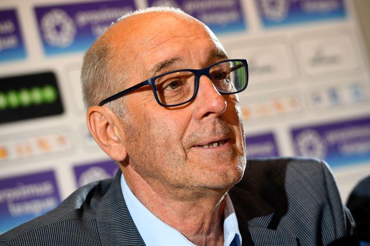 Ex-bondscoach Walter Meeuws.