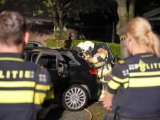 Geparkeerde Audi in Beuningen in brand gestoken: politie onderzoekt toedracht