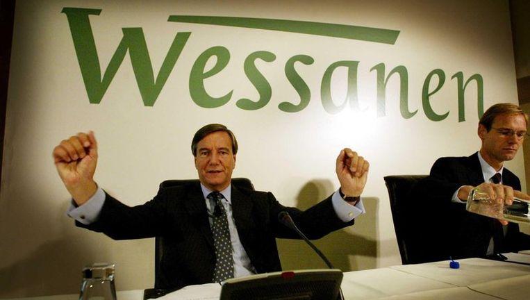 Oud-topman Ad Veenhof in zijn tijd bij Wessanen. Foto ANP Beeld