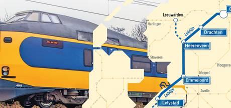 Draagvlak voor Lelylijn neemt toe: ook D66 wil treinverbinding realiseren